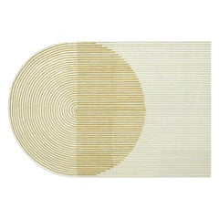 GAN Hand Tufted Ply Rug in Yellow by MUT Design