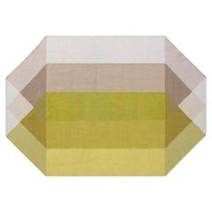 GAN Kilim Diamond Medium Rug by Charlotte Lancelot