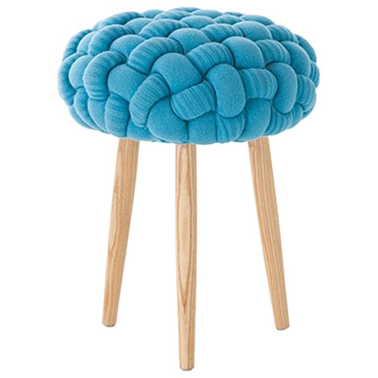 Patricia Urquiola Knitted Stool in Wool for GAN