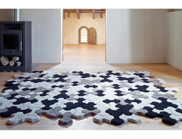 Modern GAN Pack Rug in Natural by Jose A. Gandía and Blasco For Sale