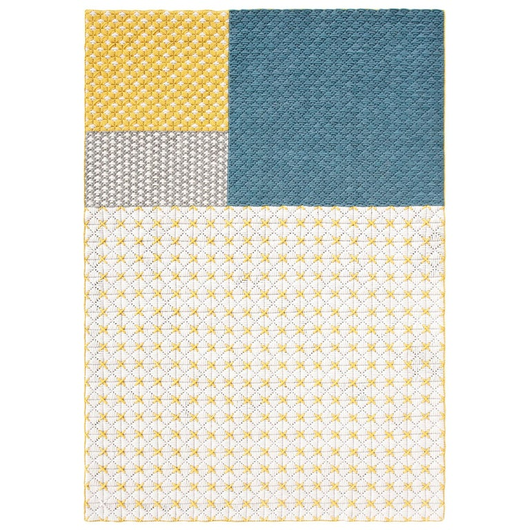 For Sale: undefined (Yellow) GAN Silaï Space Rug by Charlotte Lancelot