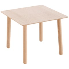 GAN Silaï Space Small Table in Wood w/ Matte Finish by Charlotte Lancelot