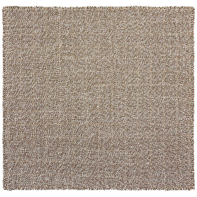 For Sale: undefined (Brown) GAN Small Waan Rug in Wool