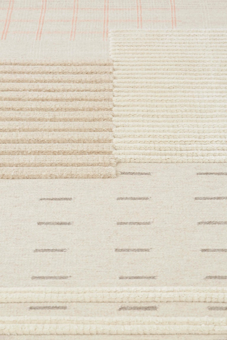 GAN Spaces Lan Rug in Natural by Neri&Hu In New Condition For Sale In New York, NY