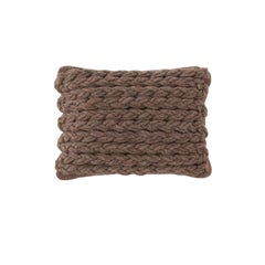 GAN Trenzas Pillow in Braided Wool