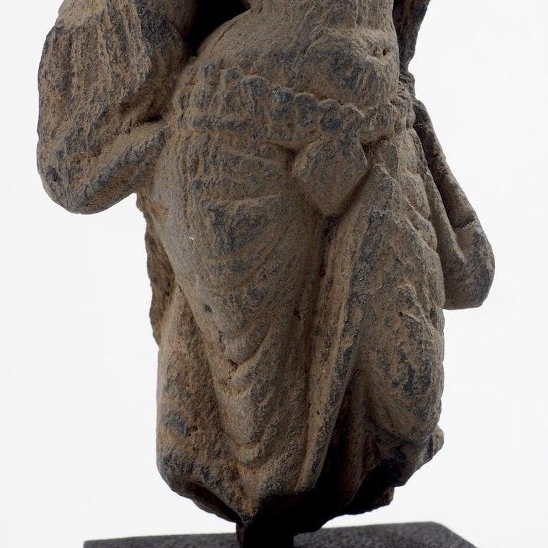 Gandhara Female Deity, 2nd-3rd Century For Sale 4
