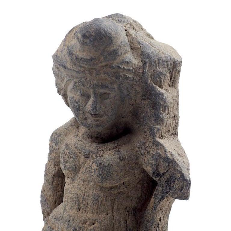 Gandhara Female Deity, 2nd-3rd Century For Sale 5