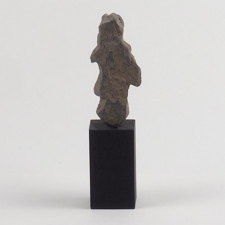 Hand-Carved Gandhara Female Deity, 2nd-3rd Century For Sale