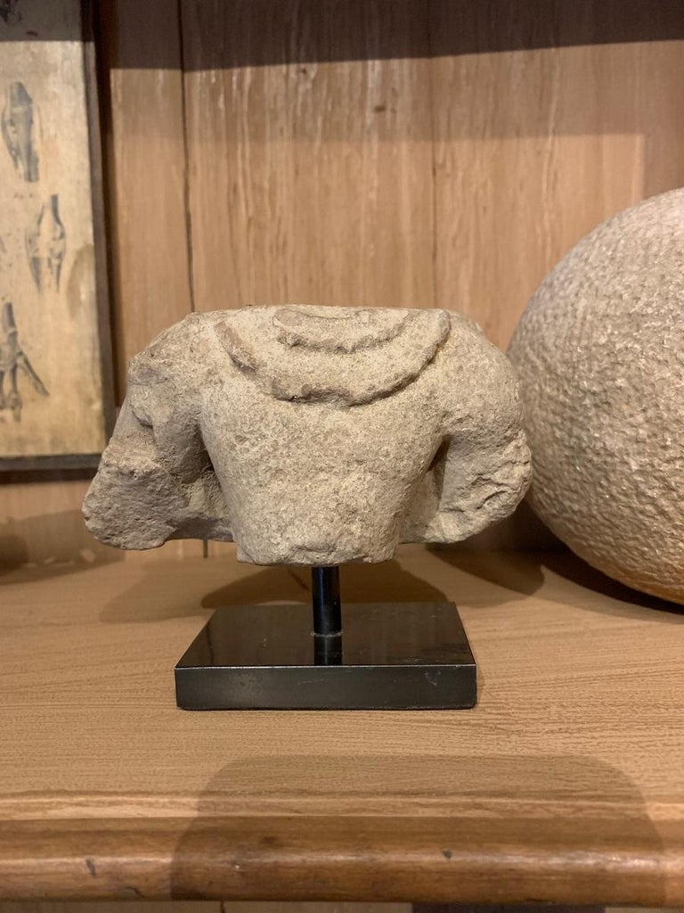 Archaistic Gandharan Stone Torso For Sale
