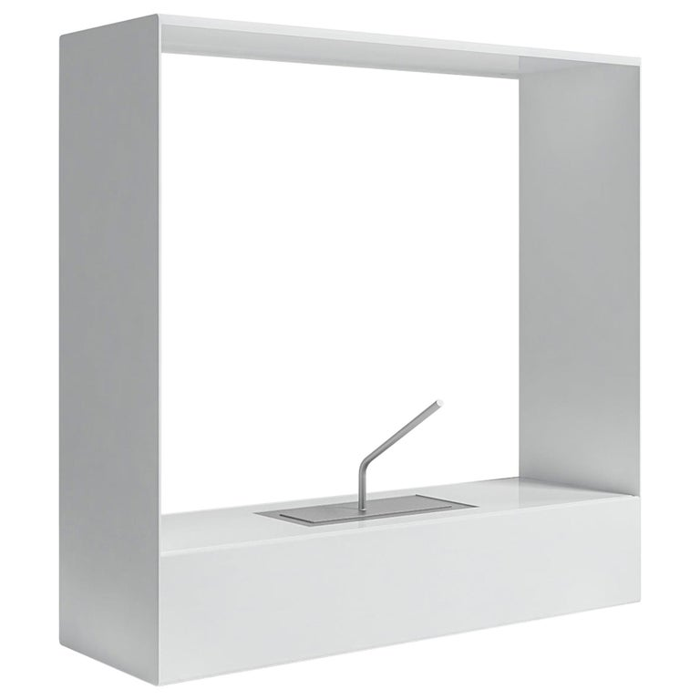 For Sale: White (RAL9016.jpg) Gandia Blasco Lighting Llar Fireplace 2 by Borja García