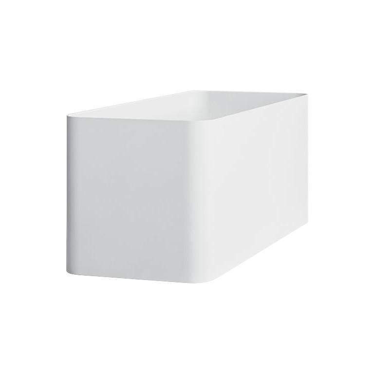 For Sale: White (RAL9016.jpg) Gandia Blasco Sonora Planter 4 by Pablo Gironés