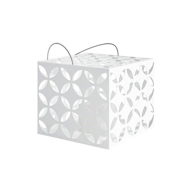 For Sale: White (RAL9016.jpg) Gandia Blasco Touareg Small Candle Box by Sandra Figuerola
