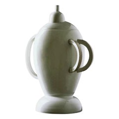 Garda White Porcelain Amphora, by Matteo Thun from Memphis Milano
