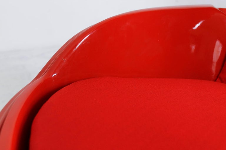 Garden Egg Chair by Peter Ghyczy for VEB Synthese Werk East Germany, 1960s For Sale 6