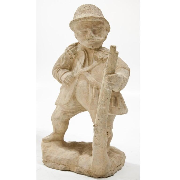 Garden Gnome, Hunter, 19th Century 3