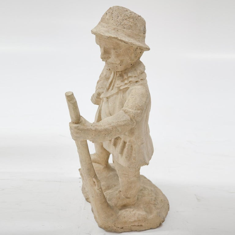 Garden Gnome, Hunter, 19th Century 4