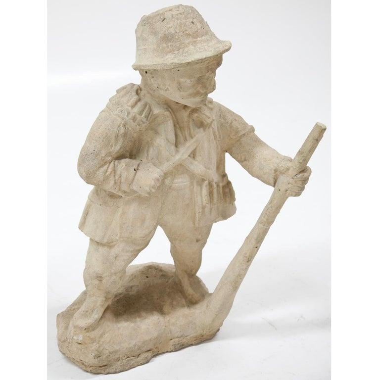 Garden Gnome, Hunter, 19th Century 6