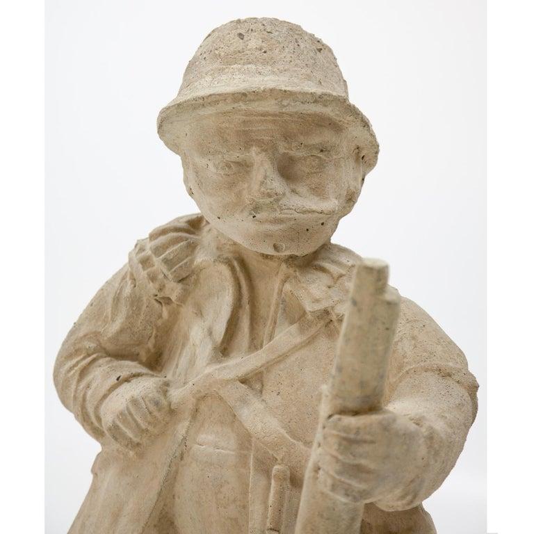 Garden Gnome, Hunter, 19th Century 7