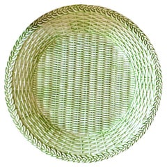 Garden Green Handmade Ceramic Dessert Plate