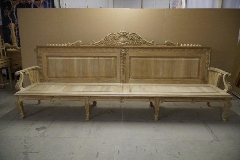 English Garden Seats in the Manner of William Kent For Sale