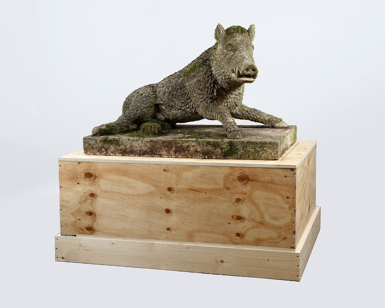English Garden Statue of the Uffizi Boar For Sale