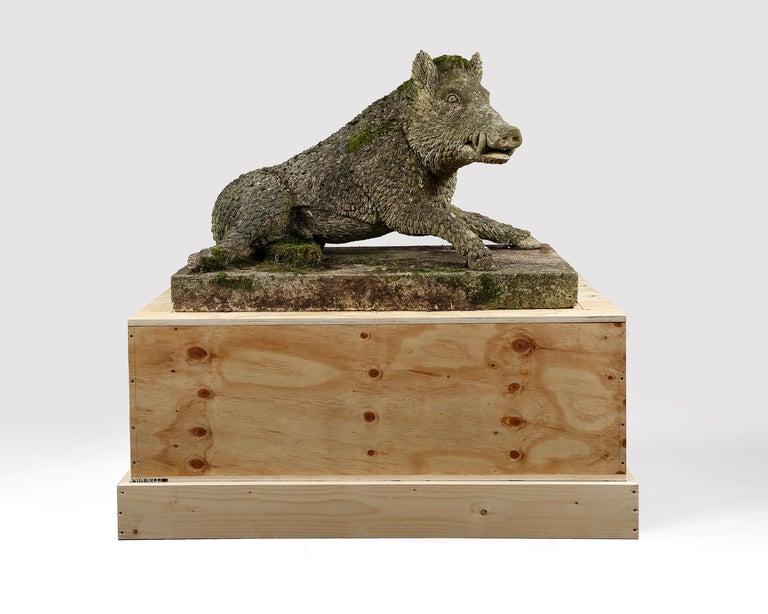 Garden Statue of the Uffizi Boar In Good Condition For Sale In Edenbridge, Kent