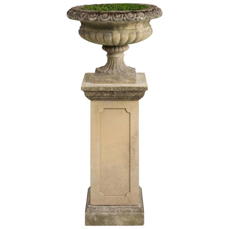 Garden Urn with Pedestal