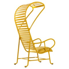 Gardenias Yellow Armchair with Pergola, Indoor by Jaime Hayon