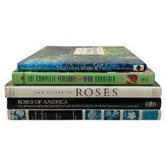 Gardening Roses, Herbs, Shrubs, Vegetables, Fruit Trees, Collection of 5 Books