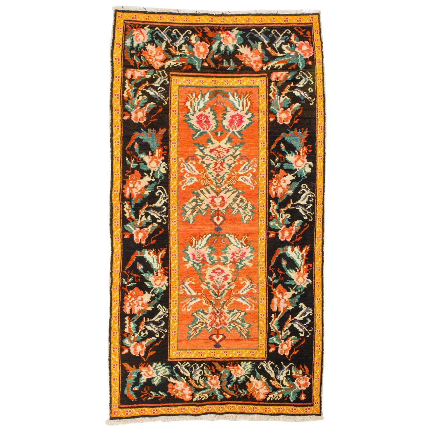 Caucasian Vintage Carpet with a Good Price