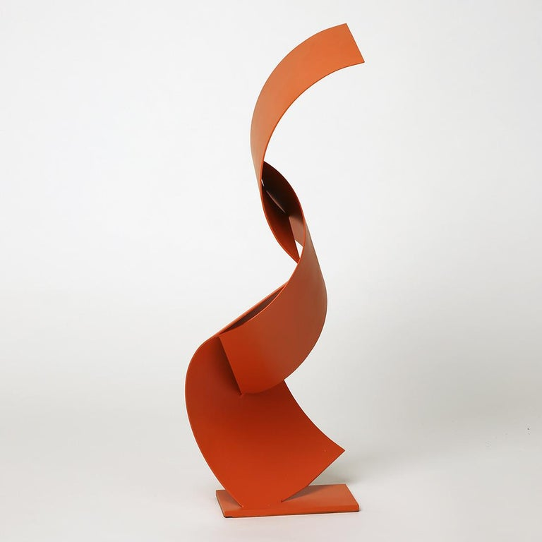 Tucson Inn - Metal, Abstract Sculpture, 21st Century, Gareth Griffiths, 2018 For Sale 3