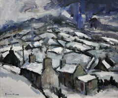 Gaeaf, Cymru (Winter, Wales). Contemporary Welsh Landscape.Original Oil Painting
