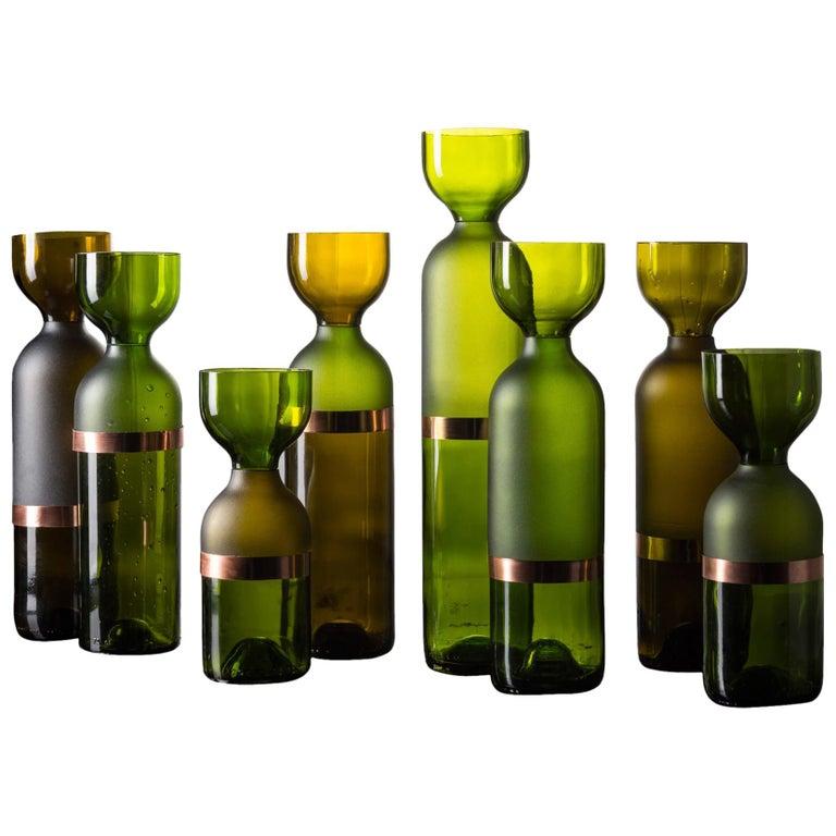 """""""Gargalos"""" Set of Vases Design by Brunno Jahara For Sale"""