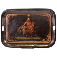 Garibaldi's Tray, Made in Italy, End of 19th Century