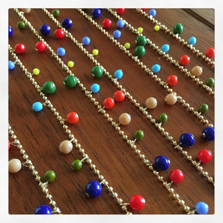 Retro Garland Necklace, n1779 For Sale