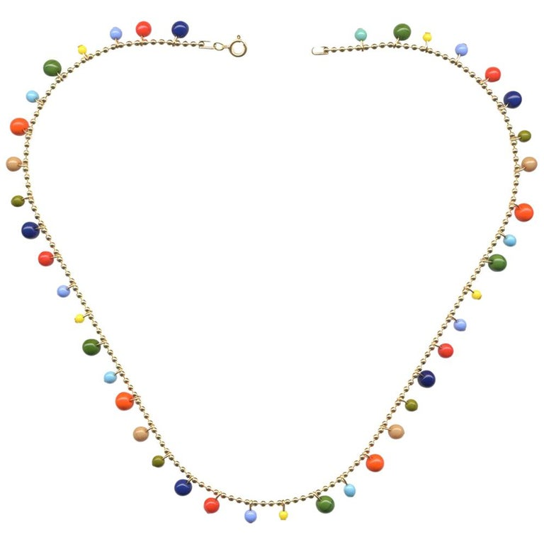 Garland Necklace, n1779 For Sale