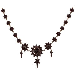 Garnet Necklace, circa 1800