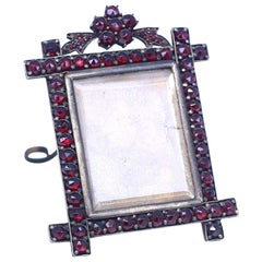 Garnet Table Picture Frame Property Duchess of Roxburghe, 1885