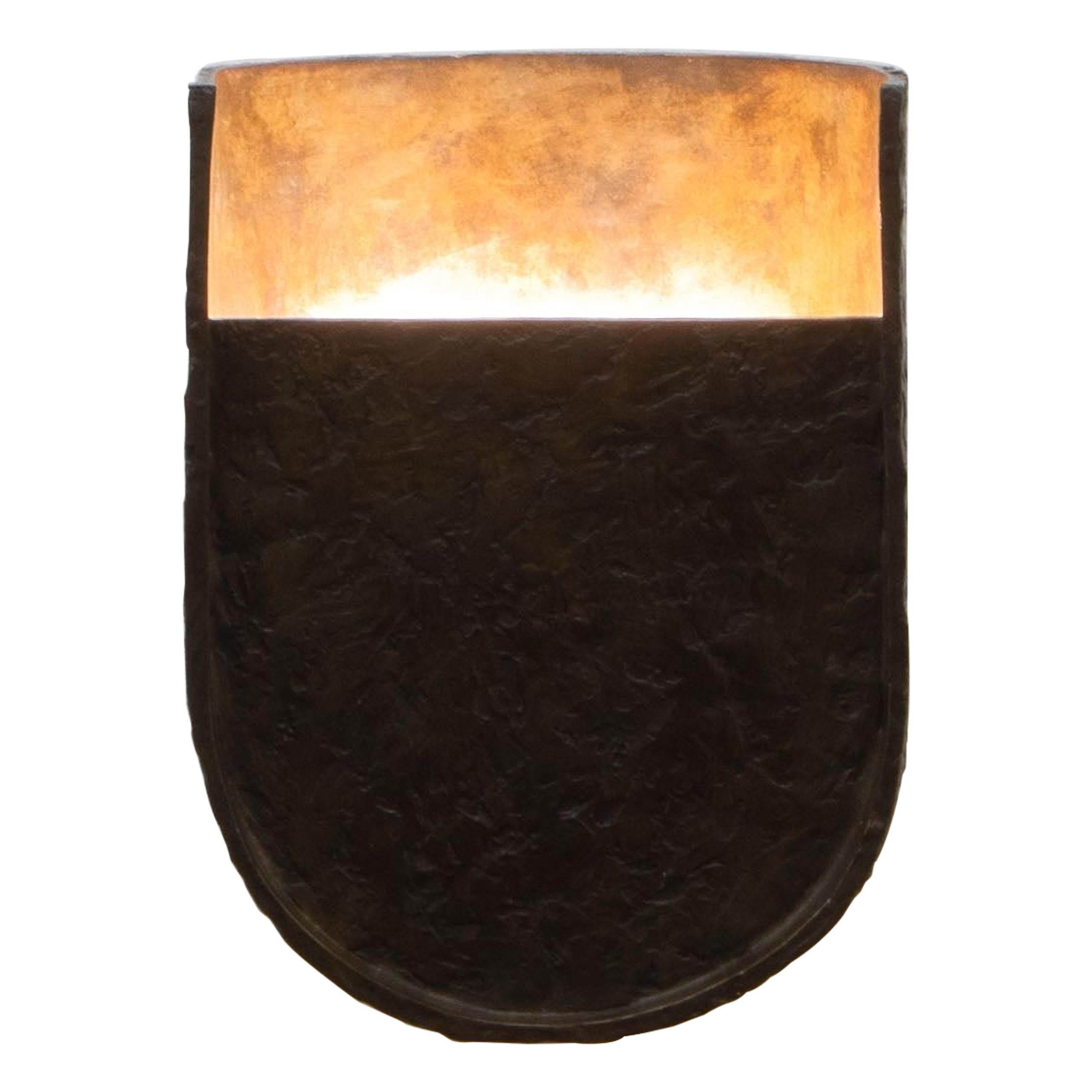 Garnier & Linker Mask Sconce Small in Bronze
