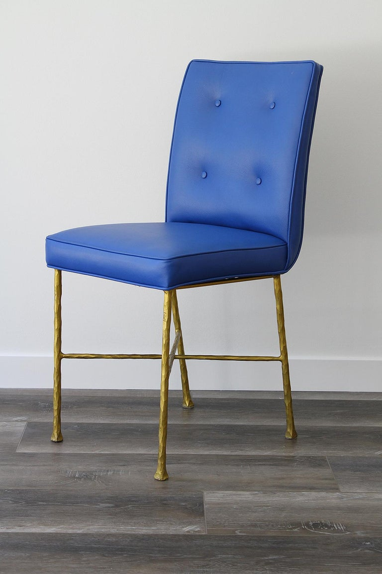 Late 20th Century Garouste & Bonetti Chairs, Rare Set of 6 Chairs For Sale