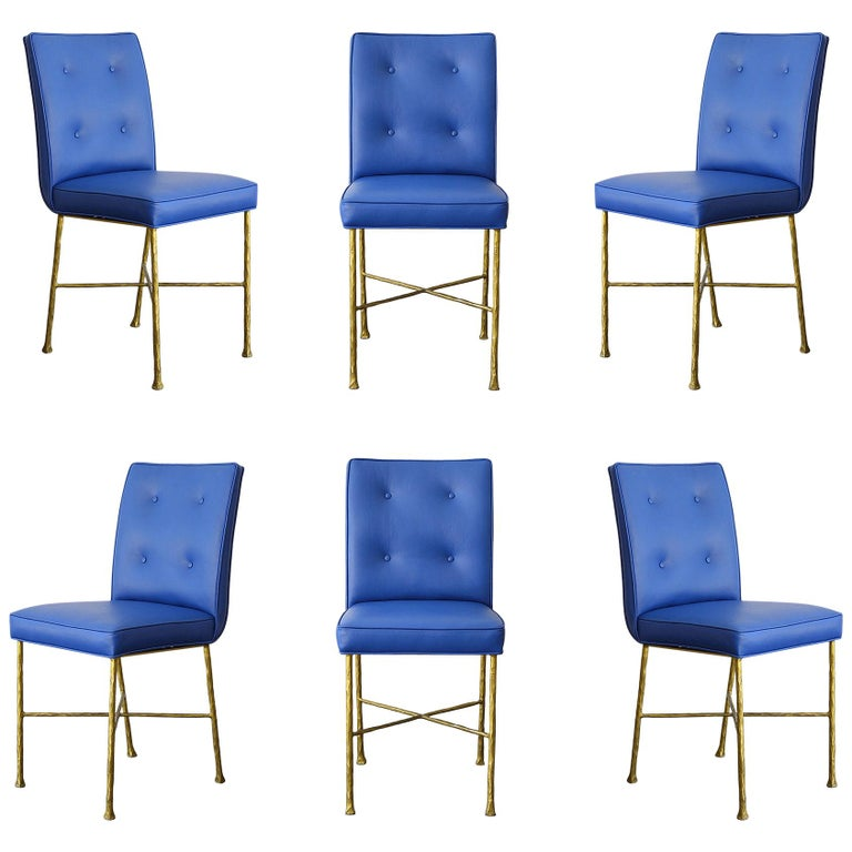 Garouste & Bonetti Chairs, Rare Set of 6 Chairs For Sale