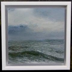 All at Sea - original seascape landscape ocean painting contemporary art