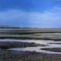Blankney original landscape miniature painting Contemporary Impressionism