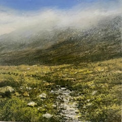 Clan - original landscape study contemporary 21st century painting