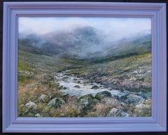 Country Sundays (Scotland) - original contemporary landscape oil painting