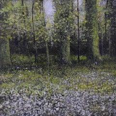 Cowparsley Study - original landscape contemporary 21st century painting
