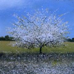 Do it now original landscape miniature painting Contemporary Impressionism