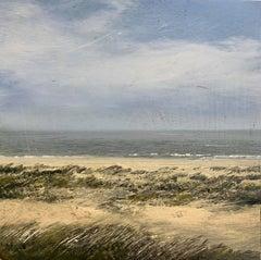 Dune Study  original  miniature landscape painting Contemporary Impressionism