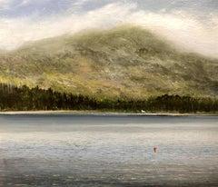 Home Highlands  miniature landscape painting Contemporary Impressionism