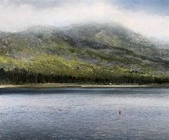 Home original highlands landscape miniature painting